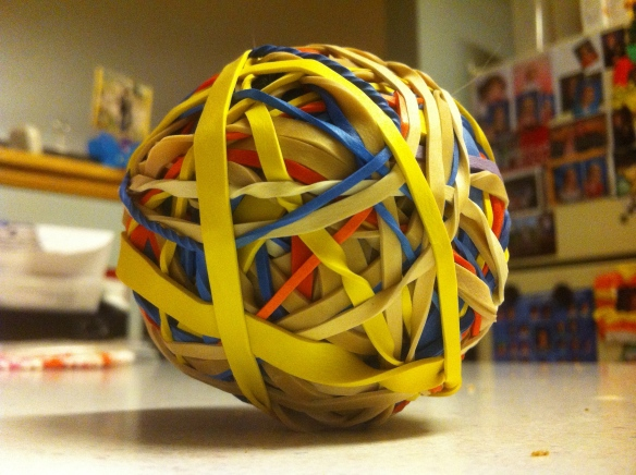 My First Rubber Band Ball